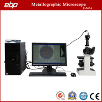 Inverted Metallographic Microscope with Microscopy Image Analysis Software