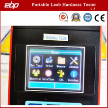 Color Screen Digital Portable Leeb Hardness Testing Machine
