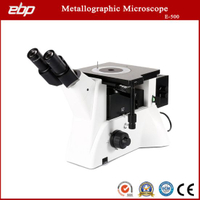 Inverted Trinocular Metallography Microscope with Bright Field Objective Lens