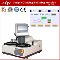 Automated Grinder-Polisher with Color Touch Screen Controls