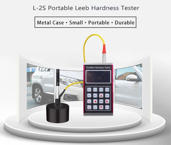 Digital Portable Hardness Testing Equipment L-2s Tester with Blocks