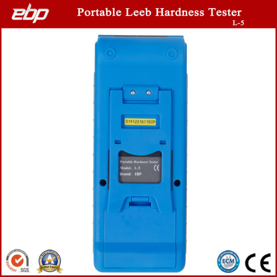 Quality Color Screen Portable Digital Rebound Leeb Hardness Tester