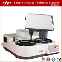 Semi-Auto Grinder-Polisher Gp-2000A Sample Preparation Grinding Polishing Machine