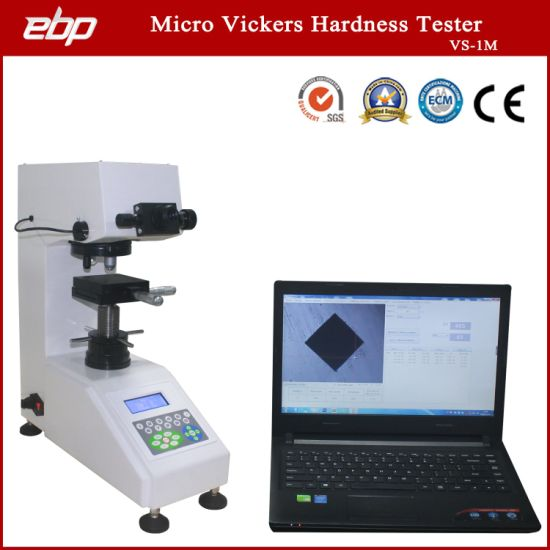 Manual Vickers Microhardness Tester with Software and Camera
