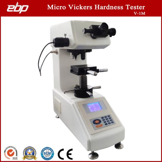 Manual Turret Micro Vickers Hardness Test Equipment with LCD Display