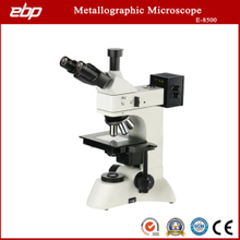 E-8500 Upright Trinocular Metallography Microscope with Bd Objective and Polarizer