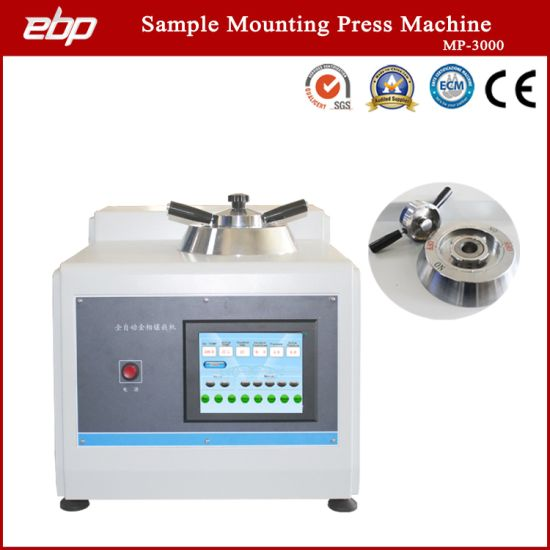 Automatic Digital Metallographic Sample Mosaic Machine with Water Cooling