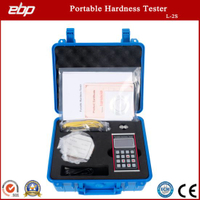 Aluminum Portable Digital Rebound Leeb Durometer with Blocks