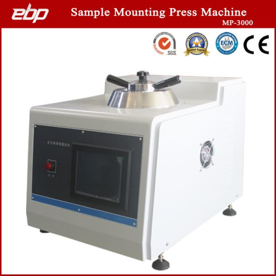 Automatic Metallographic Sample Mounting Press Machine with Compression Compound