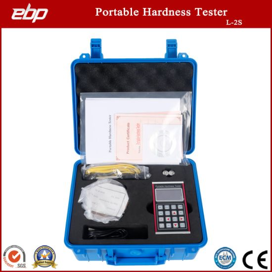 Portable Digital Hardness Tester Support D / Dl / G / DC / C Prob
