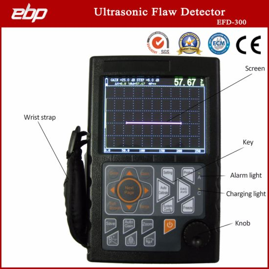 Factory Supply Defectometer 0-10000mm, , IP65, Ut, NDT, Portable Ultrasonic Weld Test Equipment Testing