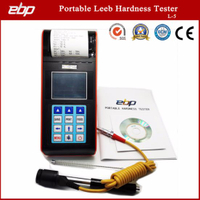 Portable Digital Rebound Leeb Hardness Testing Machine with Printer