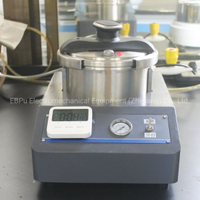 Sample Preparation Cold Mosaic Pressure Cooker Mounting Press Machine