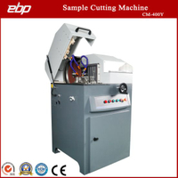 Cm-400y Vertical Type Manual Metallographic Sample Cutting Machine