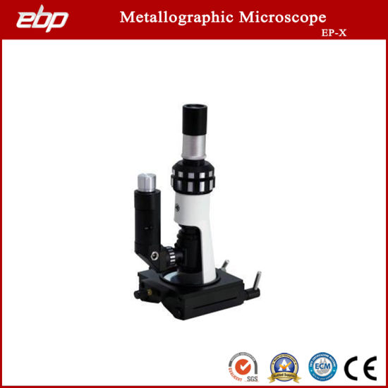 100X - 400X Portable Metallographic Microscope Ep-X