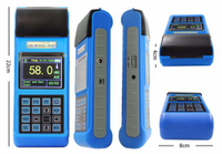 Color Screen Portable Digital Leeb Hardness Tester Support D / Dl / G / DC / C Prob