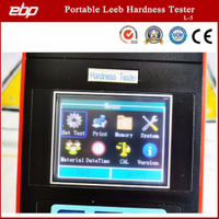 High Quality Portable Digital Rebound Leeb Hardness Testing Tool with Printer