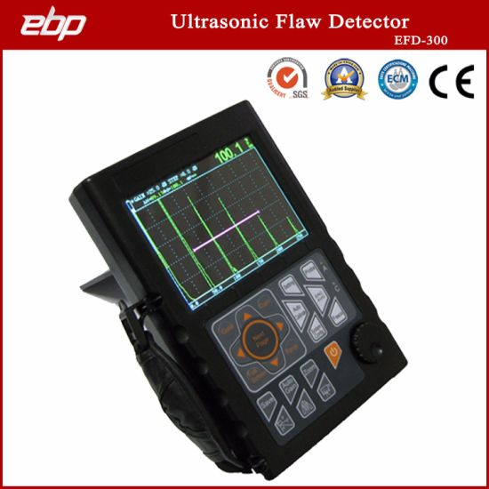 New Product Leeb Rechargeable Portable Non-Destructive Digital Ultrasonic Flaw Detector