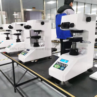 Manual Turret Manual Eyepiece Micro Vickers Hardness Testing Machine V-1m