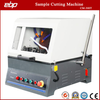Precision Metal Sample Cutting Machine with Abrasive Cutting Disc