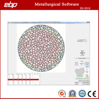 Metallographic Image Analysis software for Metallurgical Microscope