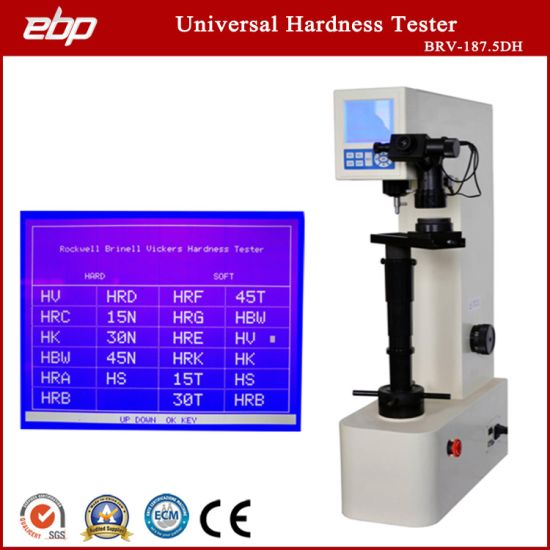 Digital Universal Hardness Testing Instruments Brv-187.5dh Machine