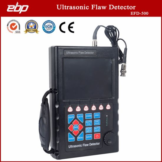 High Quality Ultrasonic Flaw Detector Quickly and Accurately Diagnoses Defects in Workpieces