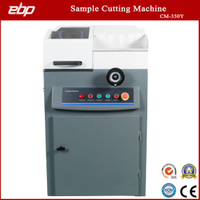 Metal Alloy Sample Cutting Machine with Rotate Type Handwheel