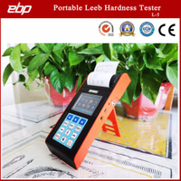 Portable Digital Rebound Leeb Hardness Testing Equipment with Printer