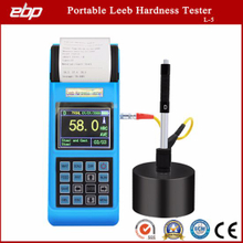 Digital Color Screen Portable Leeb Hardness Tester with Printer